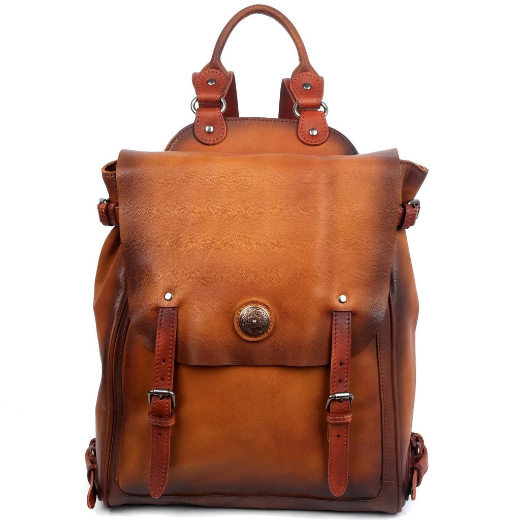 Lawnwood Leather Backpack
