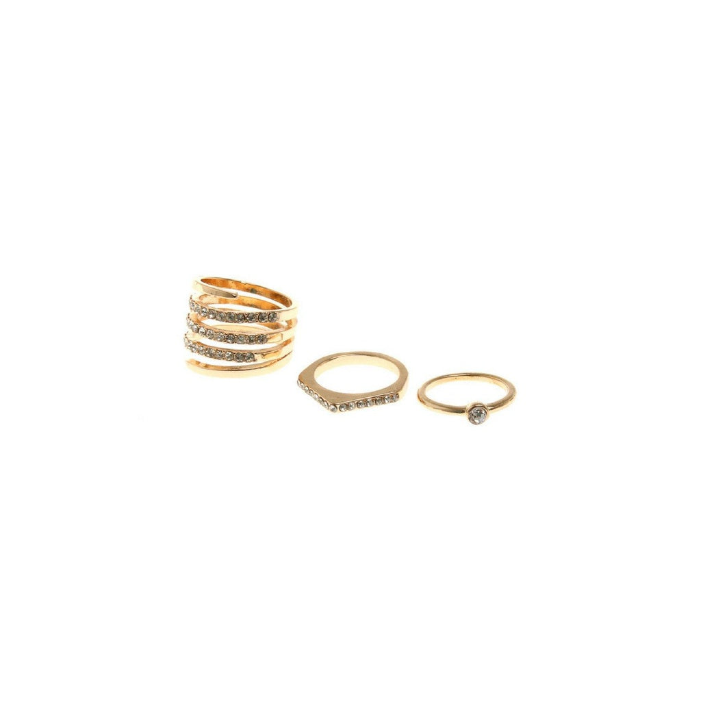 3 Piece Statement Ring Set