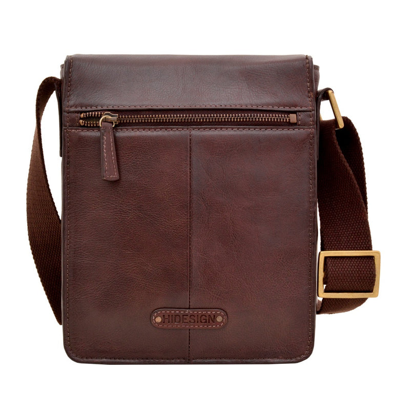 Aiden Small Leather Messenger Cross Body Bag
