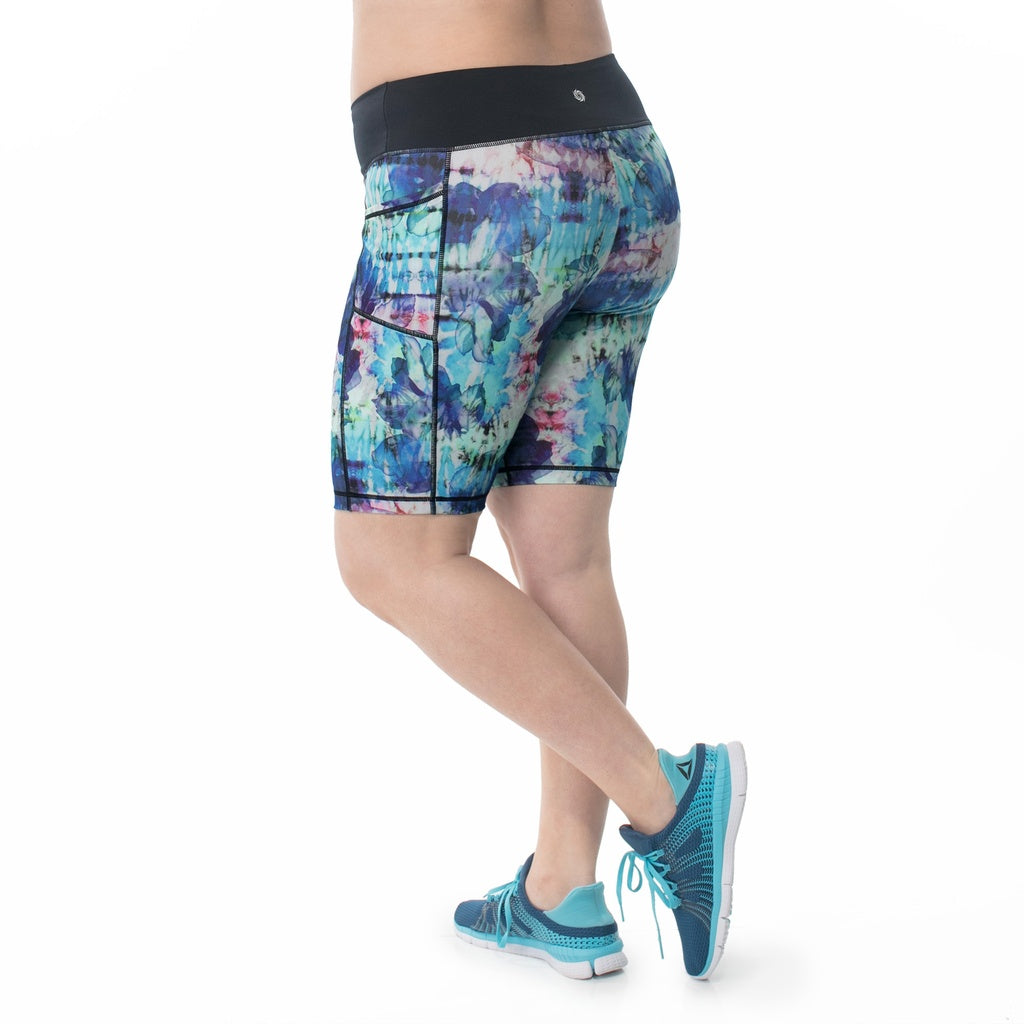 Vivien Print Bike Short