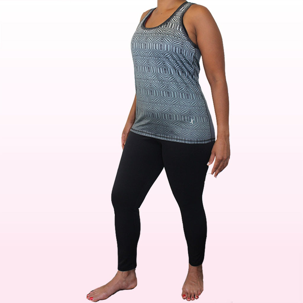 Onyx Compression Legging - 3/4 Length