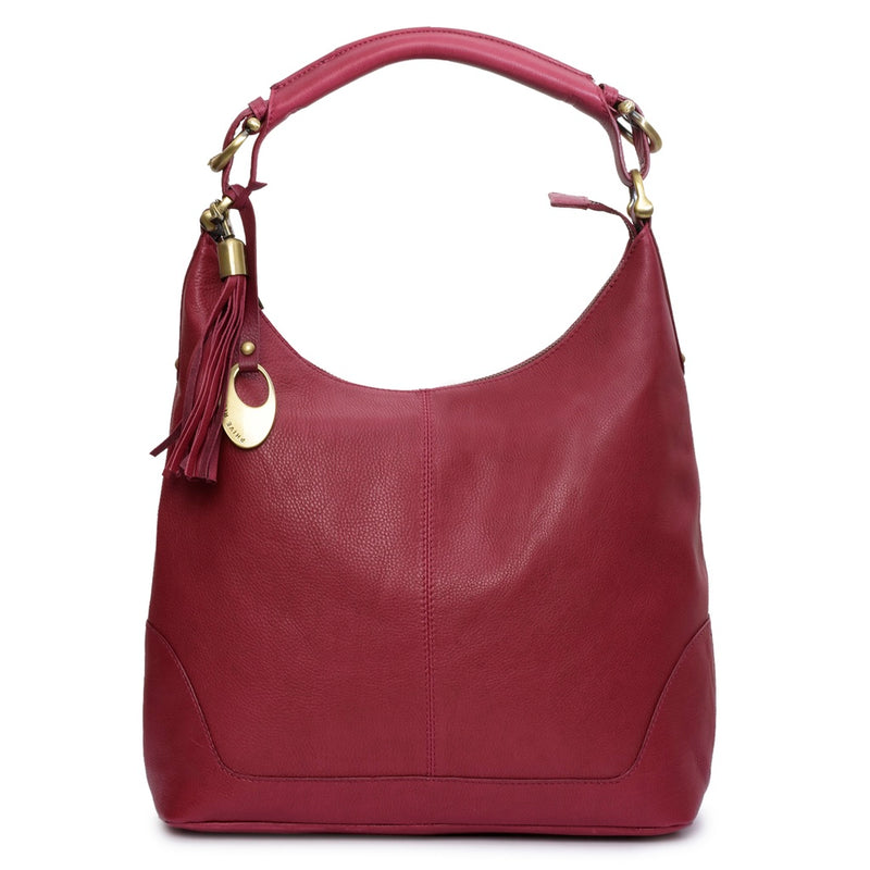 Phive Rivers Women's Leather Hobobag -PRU1323