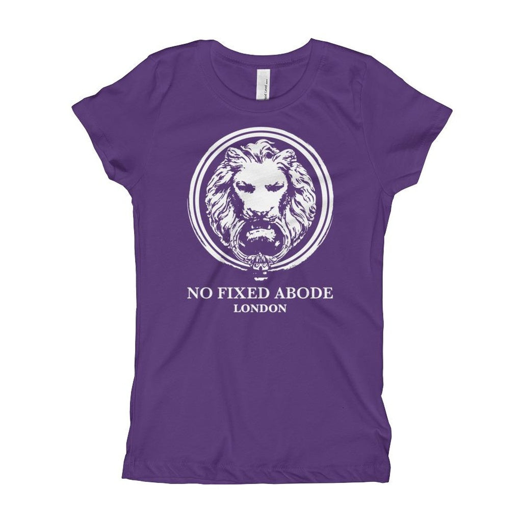 White Lion Girl's T-Shirt