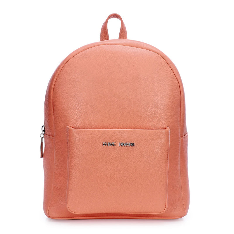 Phive Rivers Women's Leather Backpack -PRU1339