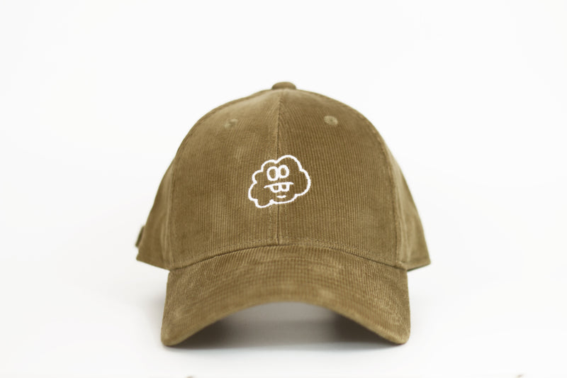 Tan Corduroy Cloud Cap
