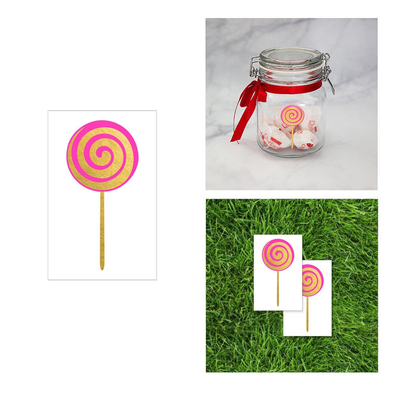 2 PACK Lollipop Tattoo