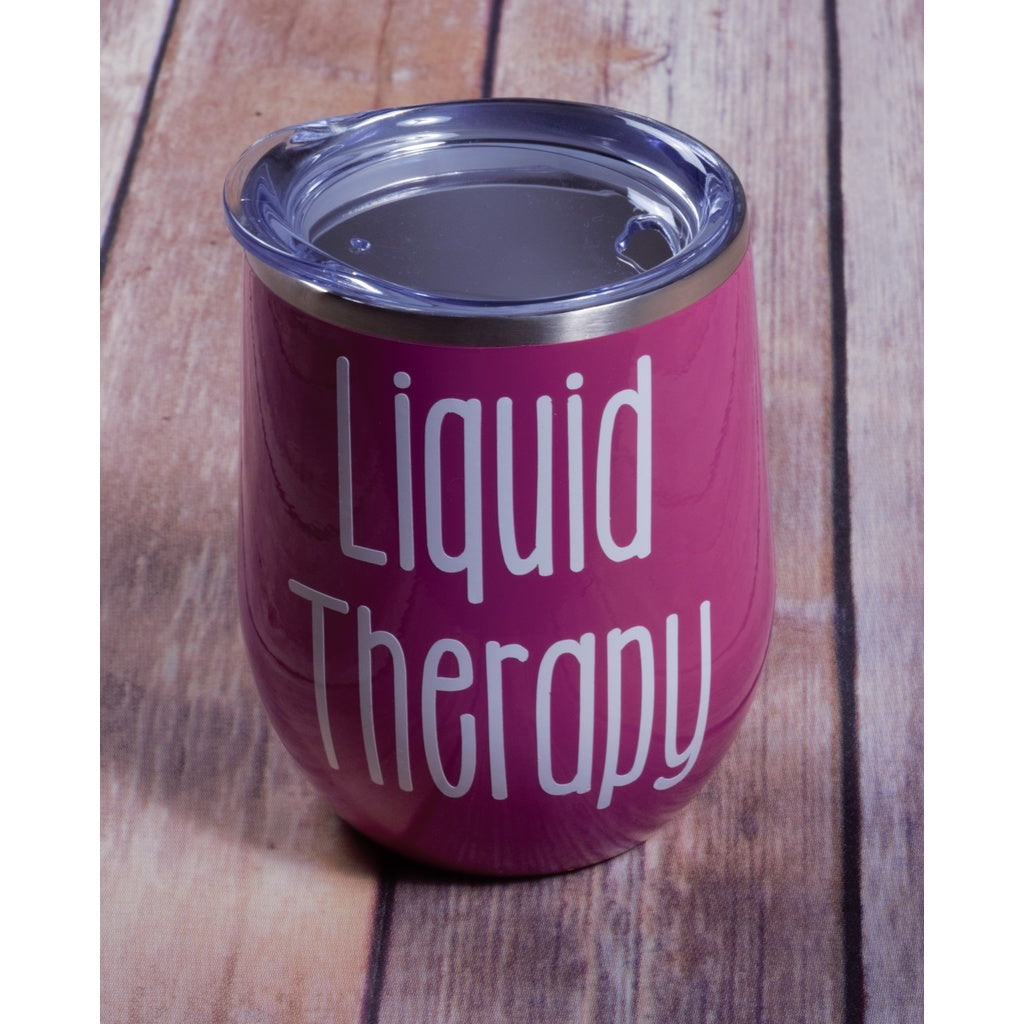 Liquid Therapy Wine Tumbler