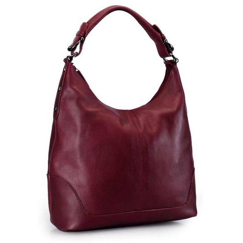 Phive Rivers Women's Burgendy Hobo Bag-PR844