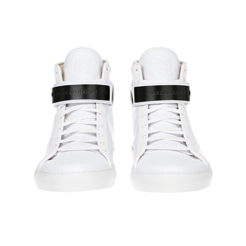 CLASSIC HIGH TOP WOMEN | MATTE BLACK | WHITE