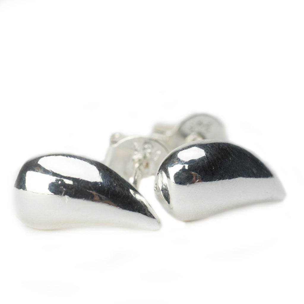 Minoa Sterling Silver Teardrop Earrings