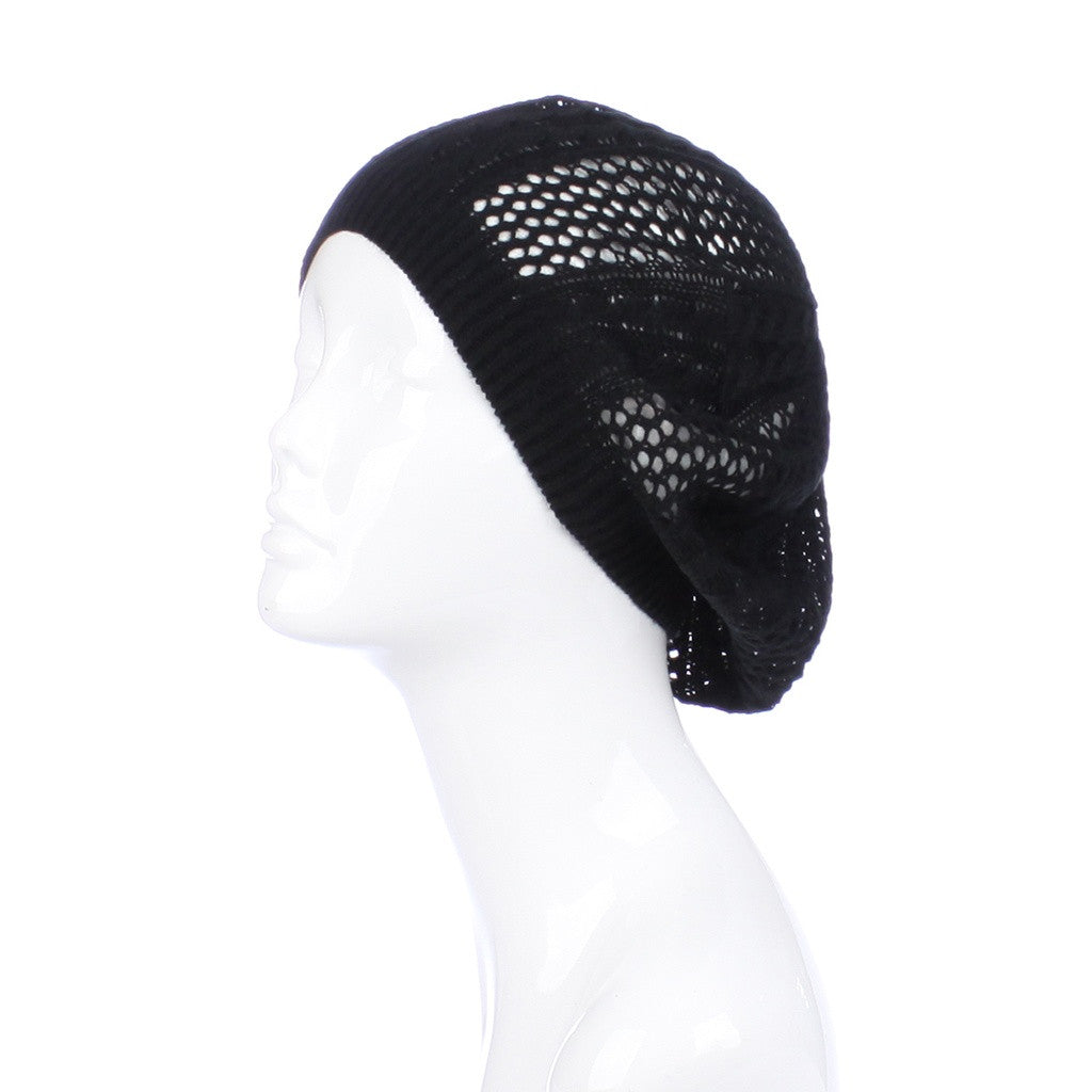 Womens Cut Out Beanie