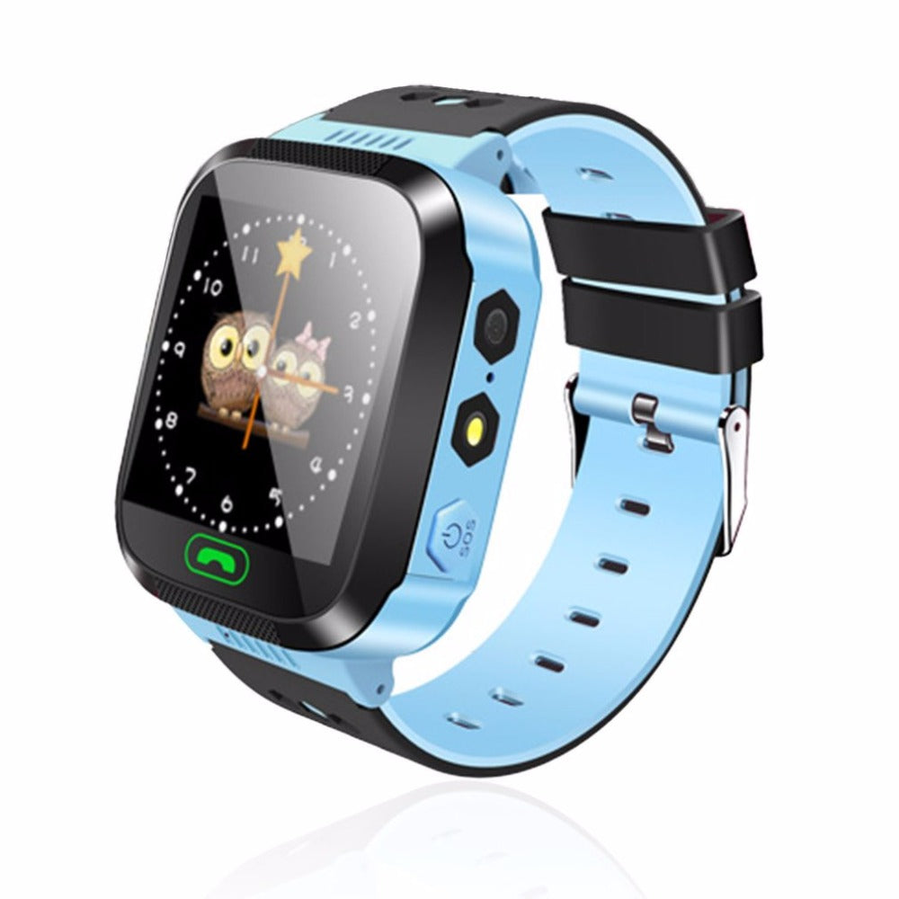 Smart Watch Kids Wristwatch Touch Screen GPRS Locator Tracker Anti-Lost Smartwatch Baby Watch With Remote Camera SIM Calls