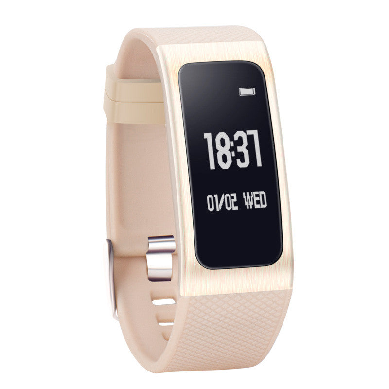 DB04 Smart Band Heart Rate Blood Pressure Sleep Monitor Smartband Call SMS Reminder Bracelet Fitness Tracker Wristband
