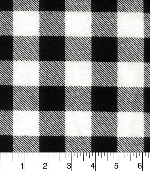 White Buffalo Plaid (Accessories)
