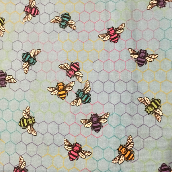 Bees on Honeycombs (Booties)