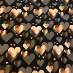 Rose Gold Hearts (Dress)