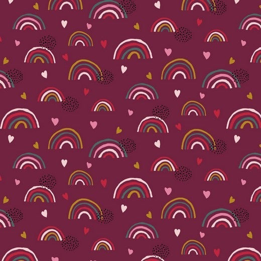 Raspberry Rainbows  (Sweater Dress)