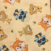 Woodland Animals on Yellow (Accessories)