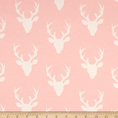 Baby Pink Deer Head (Accessories)