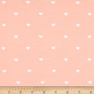 Pink with White Hearts (Slouchy Hat)