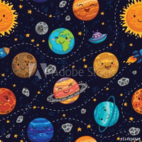 Happy Planets (Sweater Dress)