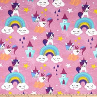 Unicorns on Rainbows (Low Back Rompers)