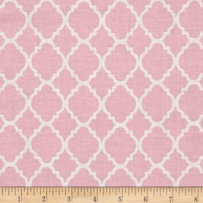 Baby Pink Quatrefoil (Accessories)