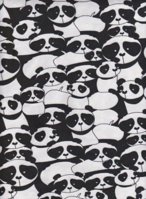 Pandas (Sleeveless Dress)