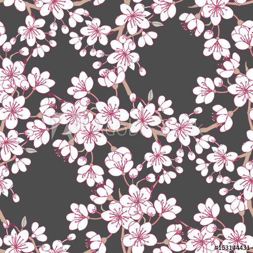 Cherry Blossoms (Sleeveless Dress)