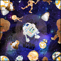 Star Wars Friends (Low Back Rompers)