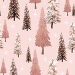 Pink Trees (Sweater Dress)