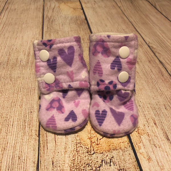 Size 2 Purple Hearts