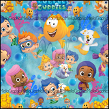 Bubble Guppies (Low Back Rompers)