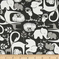 Black White Jungle Animals (Accessories)