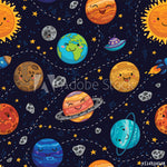 Happy Planets (Sleeveless Dress)