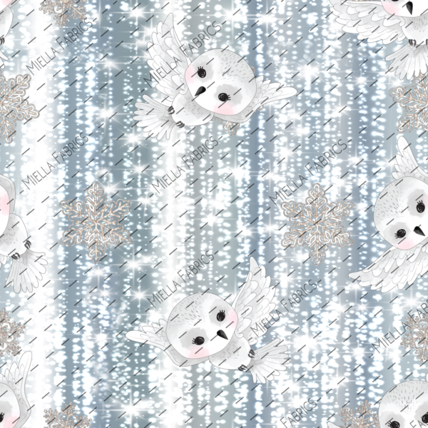 Snowy Owls (Sweater Dress)