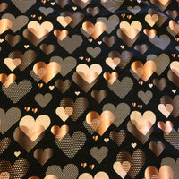 Rose Gold Hearts (Sweater)