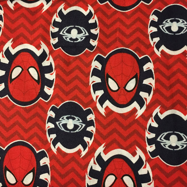 Spider-Man Heads on Red (Accessories)