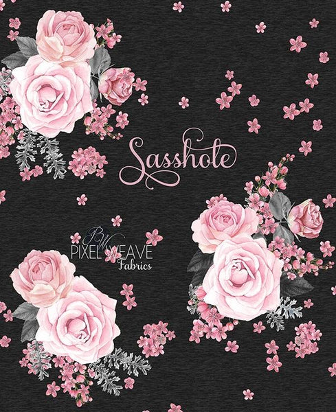 Sasshole Floral (Regular Dresses)