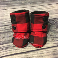 Red Buffalo Plaid (Booties)