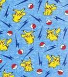 Pikachu on Blue (Peplum)