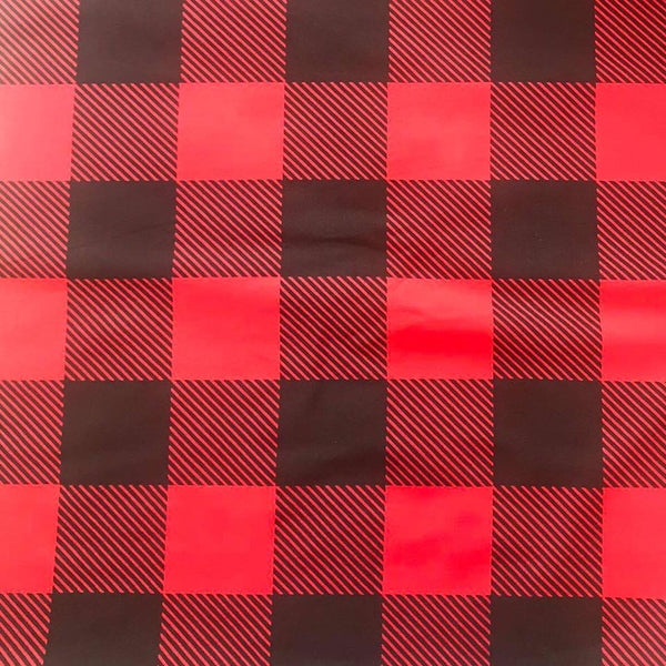 Red Buffalo Plaid (Sleeper and Onesies)