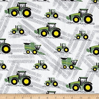 White John Deere (Booties)