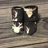 Navy Deer (Booties)