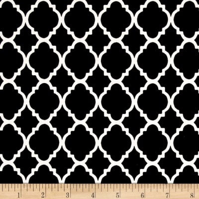 Black Quatrefoil (Accessories)