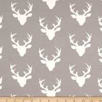 Grey Deer (Low Back Rompers)