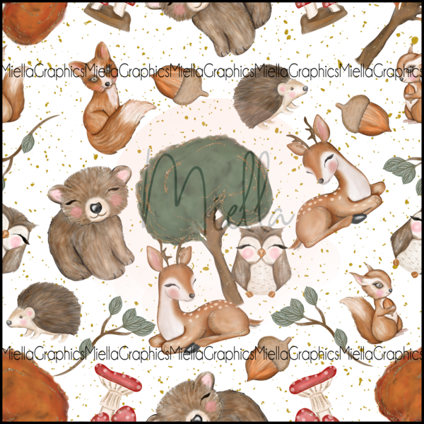 Forest Animals (Sweater Dress)