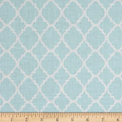 Baby Blue Quatrefoil (Accessories)