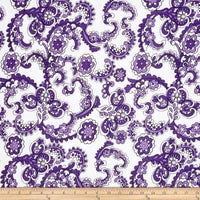 Purple Paisley (Peplum)