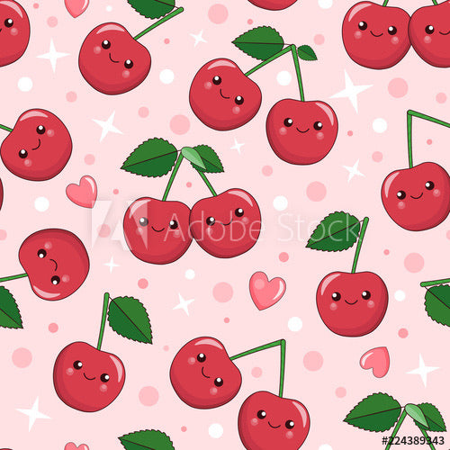 Happy Cherries (Sleeveless Dress)
